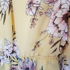 Maurices Dresses - Floral Hi Low Dress